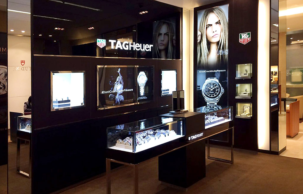 9f8949920c1 Tag Heuer (shop in shop) Project — Space Simplified by Twentythree