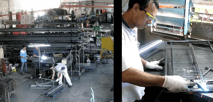 Space Simplified steel factory